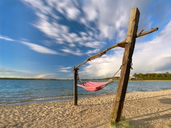 En Aquitaine. Faites l'achat d'un camping en bord de plages